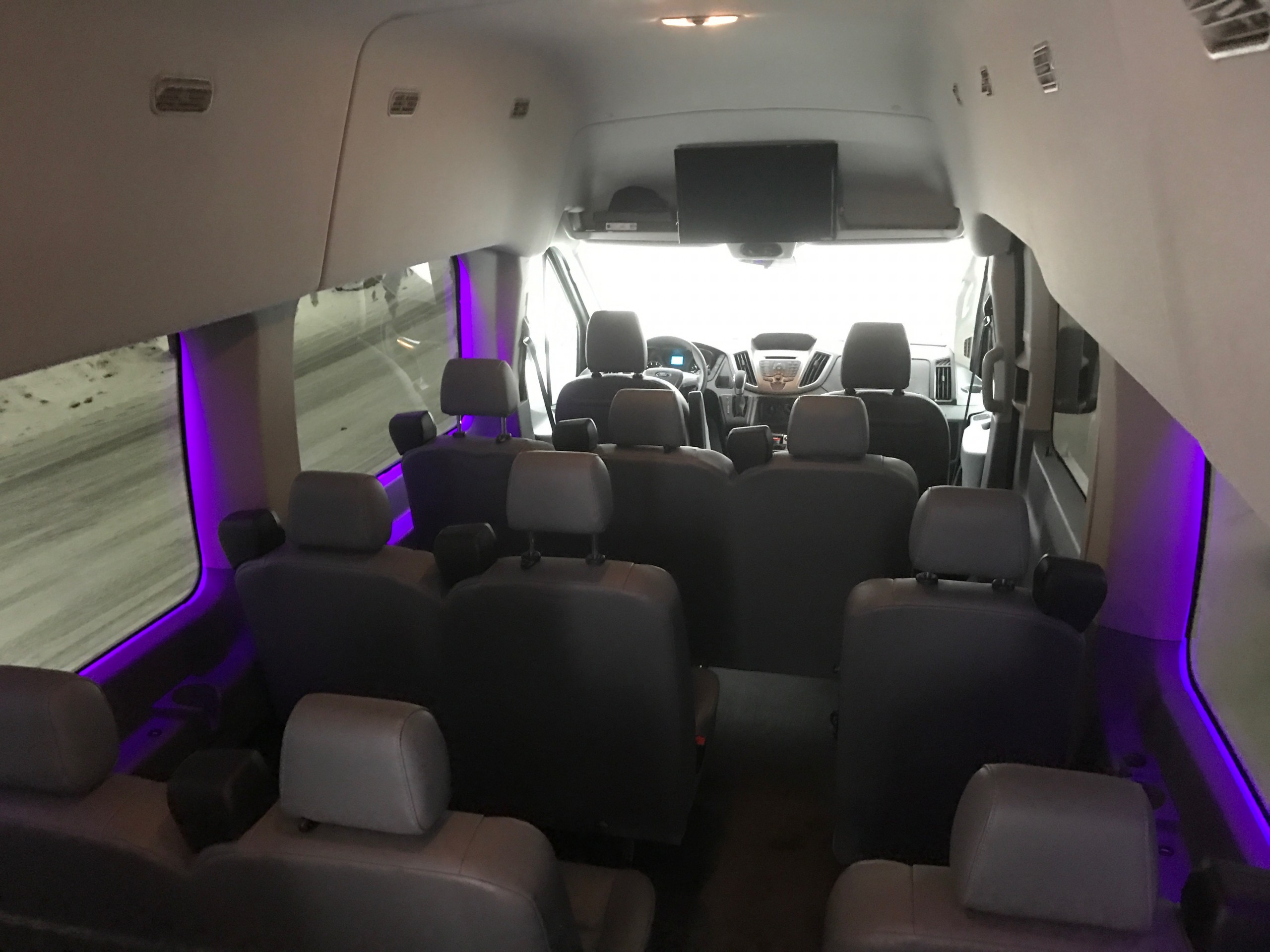 Ford E-350 4wd Passenger Van Interior Seating
