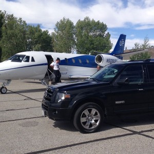 Airport Shuttle for a Private Flight at Mammoth Airport Hot Creek Aviation