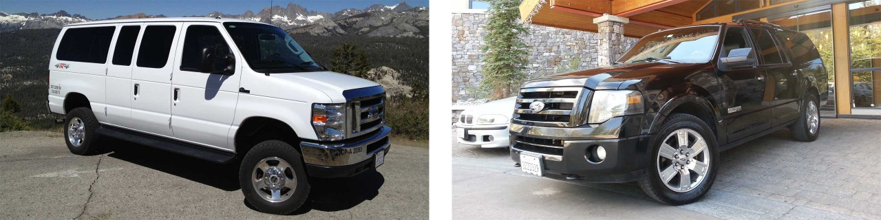 Our Fleet Consists of a Ford E-350 Van and Ford Expedition EL