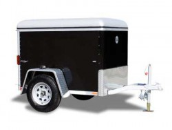 Wells Cargo 4' Mini Wagon Luggage Trailer