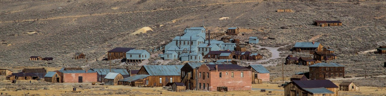 View of Bodie State Park on Guided Sightseeing Tour
