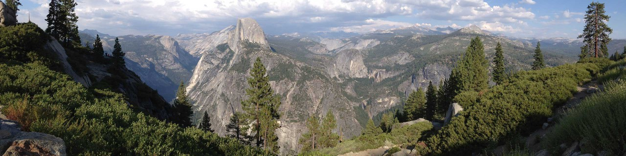 Scenic Tour and View of Yosemite National Park