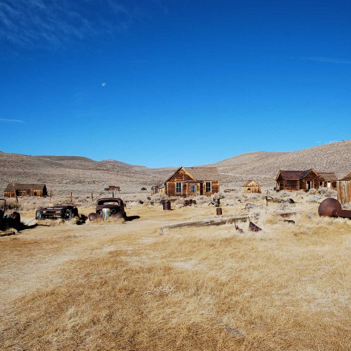 View of the Bodie Ghost Town on a MAWS Tour