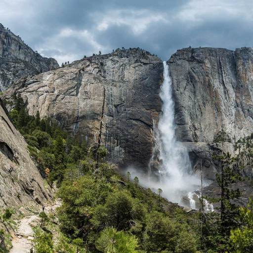 View of Yosemite Falls on a MAWS Tour